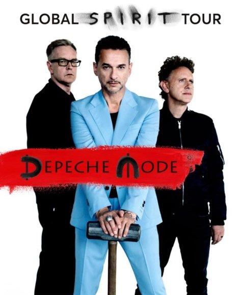 "Grupės archyvo nuotr./""Depeche Mode"" gastrolių ""Global Spirit"" afiša"