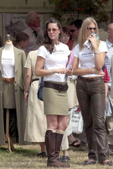 Vida Press nuotr./Kate Middleton (2004 m. liepa)
