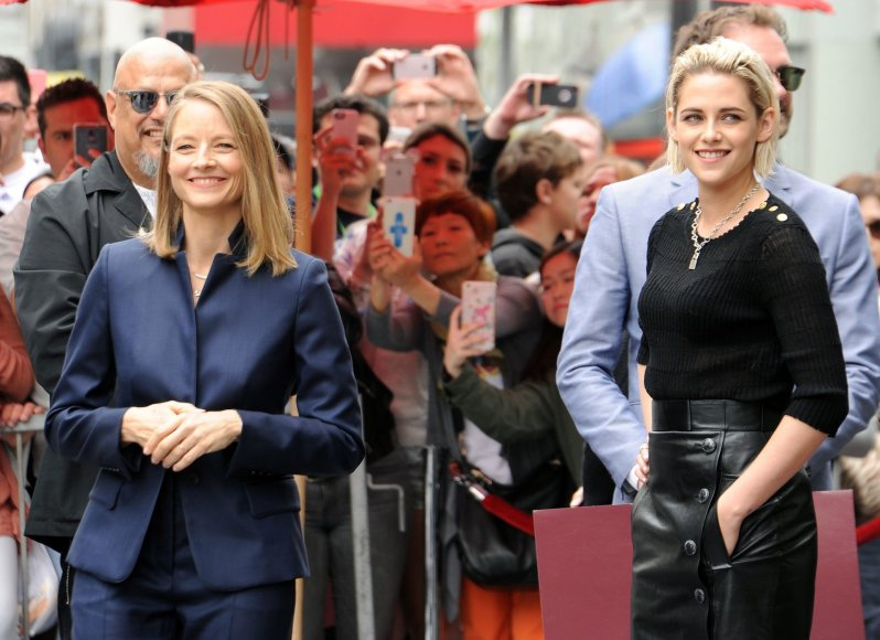 """""""Scanpix"""" nuotr./Kristen Stewart ir Jodie Foster"""