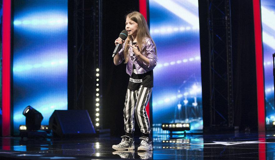 """Lietuvos talentų"" nuotr./""Lietuvos talentų"" dalyvė Sofija"