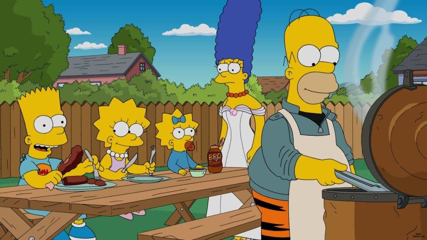 """""""Scanpix""""/AP nuotr./""""Simpsonai"""""""