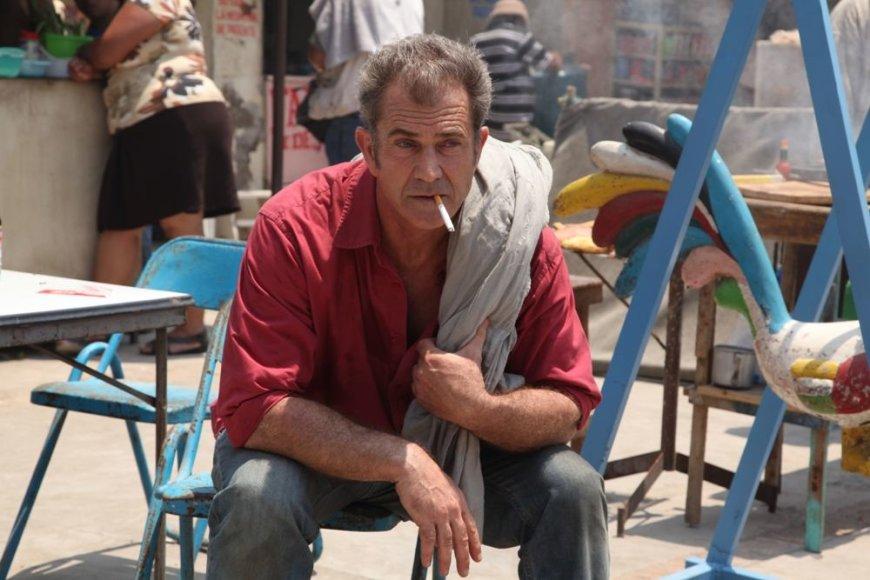 """Melas Gibsonas filme """"Sumautos atostogos Meksikoje"""""""