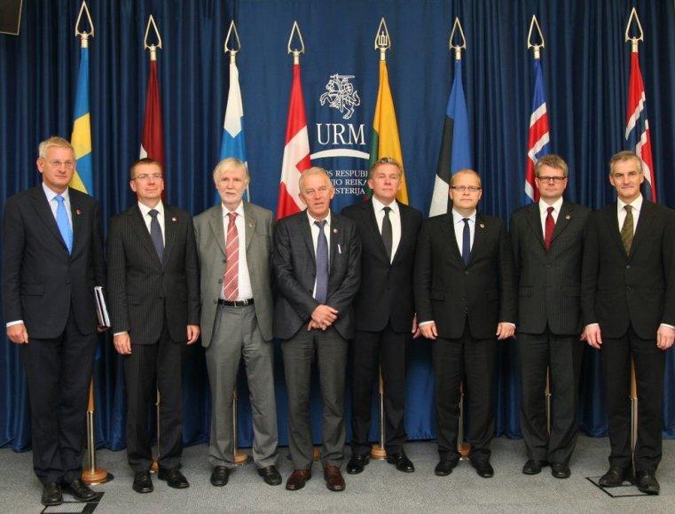 NB8 užsienio reikalų ministrų susitikimas