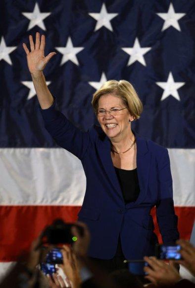 Demokratė Elizabeth Warren