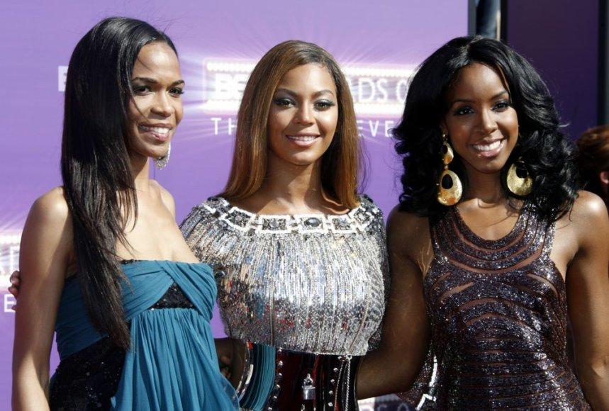 """Destiny's Child"": Michelle Williams, Beyonce ir Kelly Rowland"