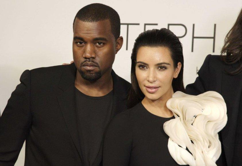 Kanye'as Westas ir Kim Kardashian