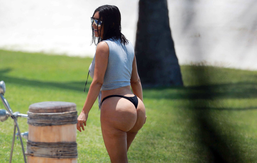 Vida Press nuotr./Kim Kardashian