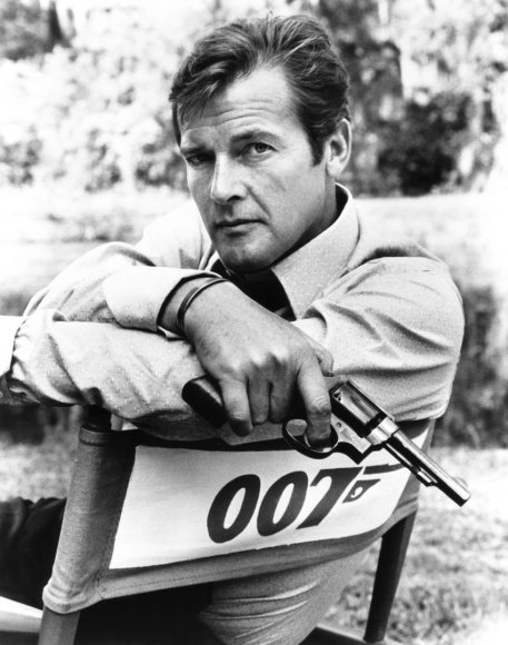 Vida Press nuotr./Rogeris Moore'as (1973 m.)