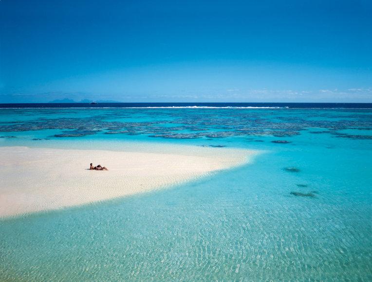 Vida Press nuotr./Tetiaroa sala, kur medaus mėnesį leidžia Pippa Middleton ir Jamesas Matthewsas