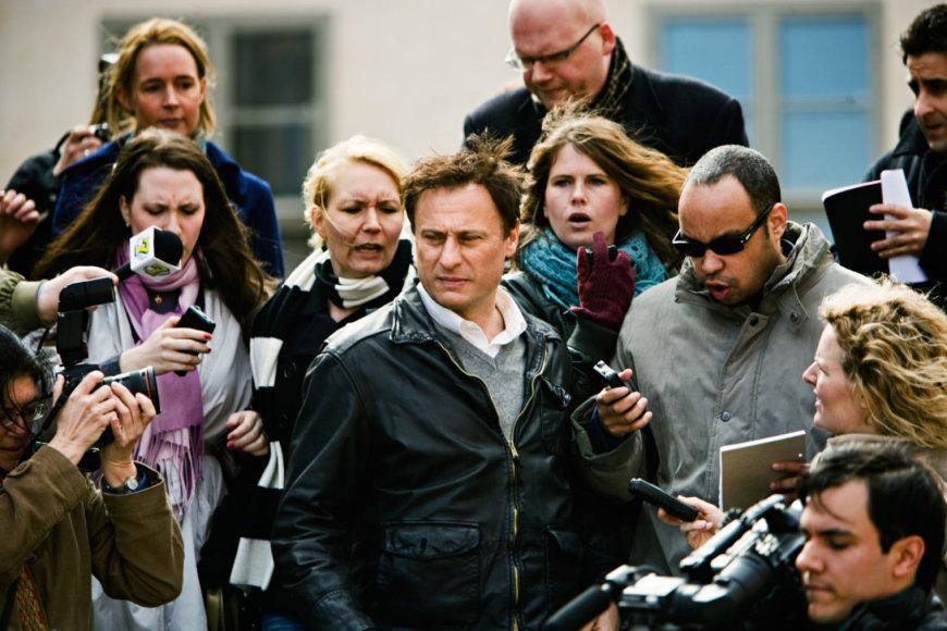 """Kadras iš filmo/Michaelis Nyqvistas filme """"Mergina su drakono tatuiruote"""" (2009 m.)"""