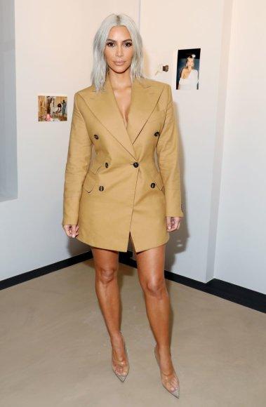 """Vida Press nuotr./Kim Kardashian """"Vivienne Westwood"""" parduotuvės atidaryme"""