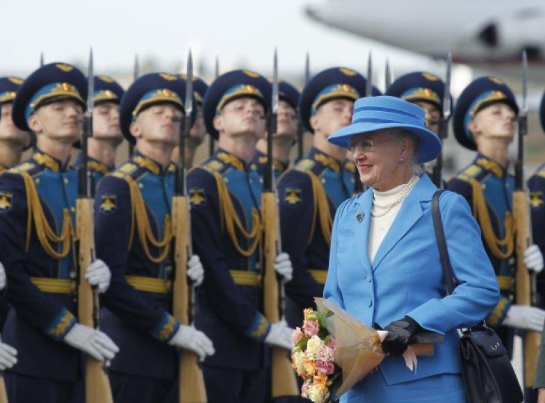 Danijos karalienė Margrethe II