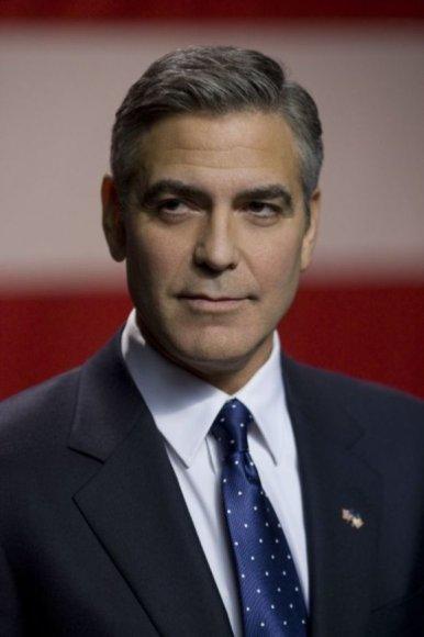 """George'as Clooney savo režisuotame filme """"Purvini žaidimai"""" vaidina kandidatą į JAV prezidentus"""