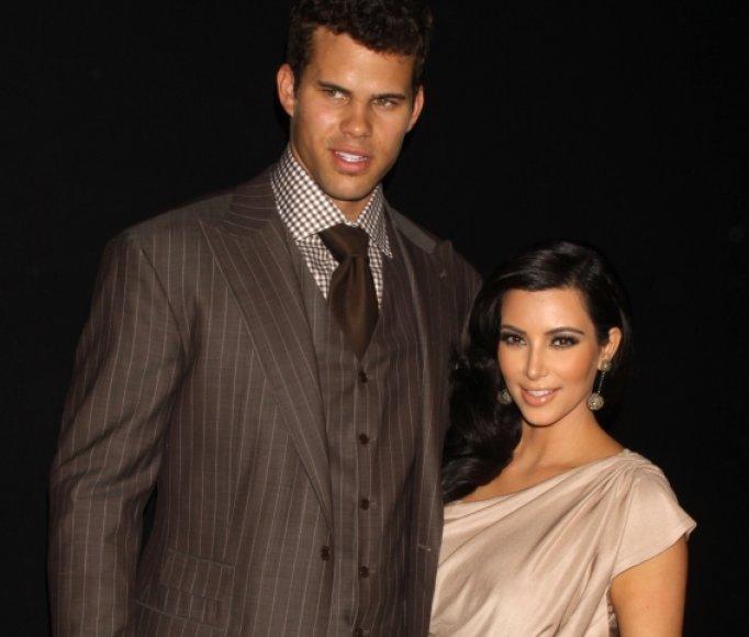 Krisas Humpriesas ir Kim Kardashian