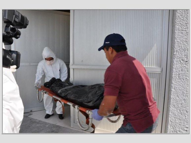 Išnešami kūnai, Meksika