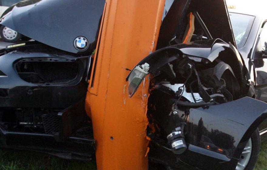 Šią vasarą, liepos pradžioje BMW buvo avarijos kaltininku Vilijampolėje, tuomet nukentėjo tik tiltas.