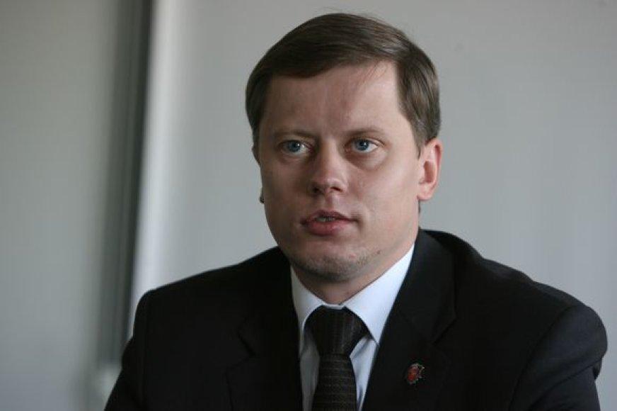 Pretendentas į Kauno merus A.Kupčinskas.