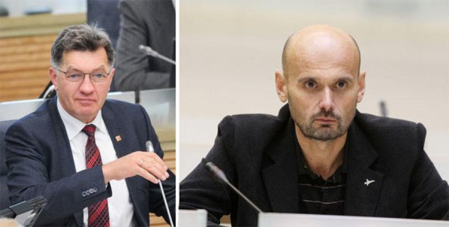 G.Labanauskas (d.) tvirtino, jog A.Butkevičius pasidavė korumpuotų sluoksnių įtakai.