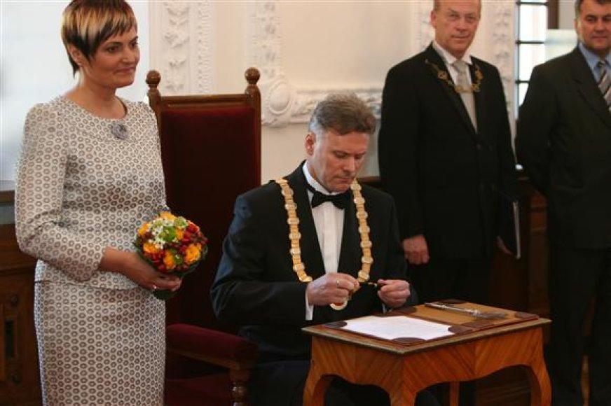 Giedrė ir Rimantas Mikaičiai tikisi daugiau laiko praleisti kartu.