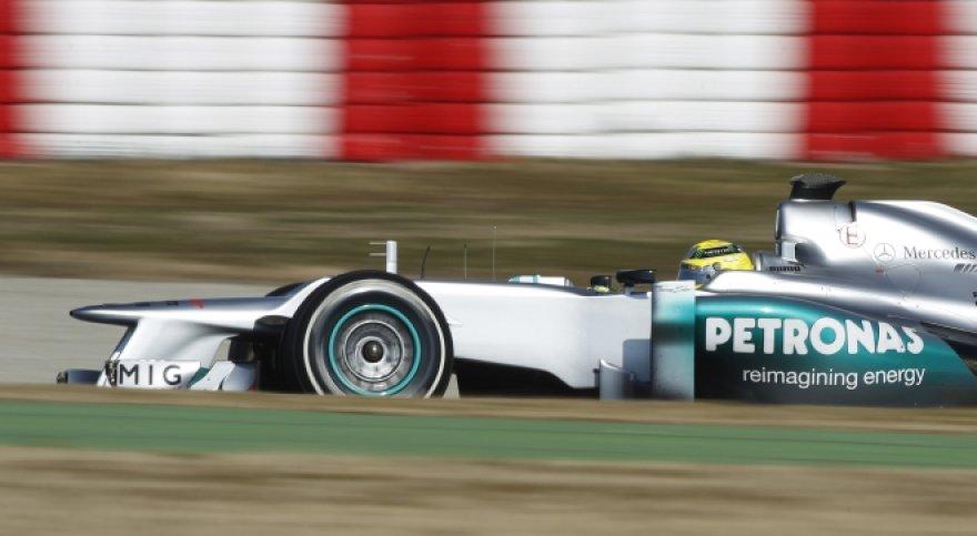 "Nico Rosbergas. ""Mercedes"""
