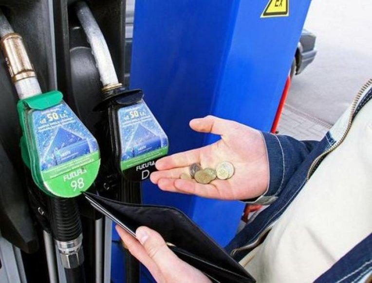 15% bioetanolio - nekenksmingas kiekis automobiliui
