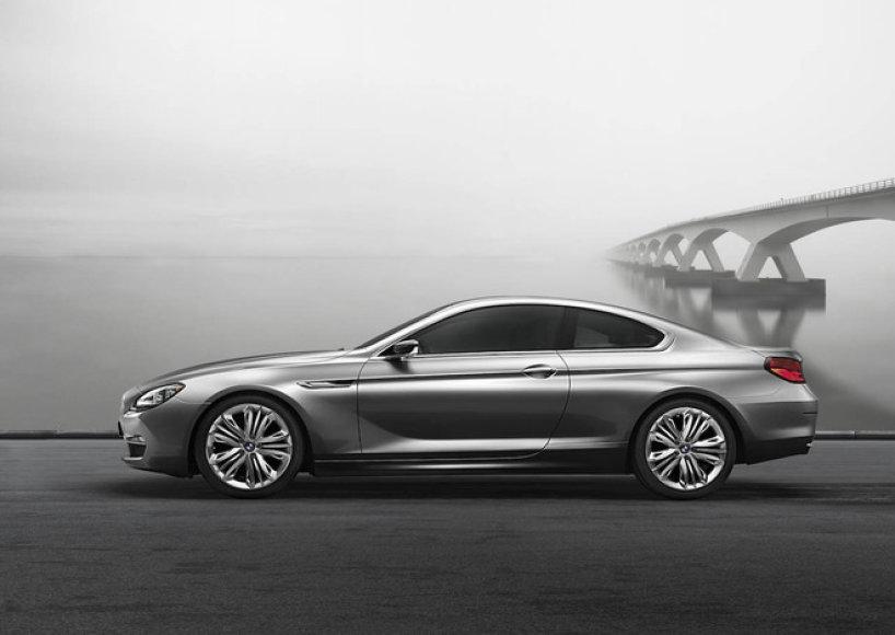 """2012 metų """"BMW 6"""" koncepcinis modelis"""