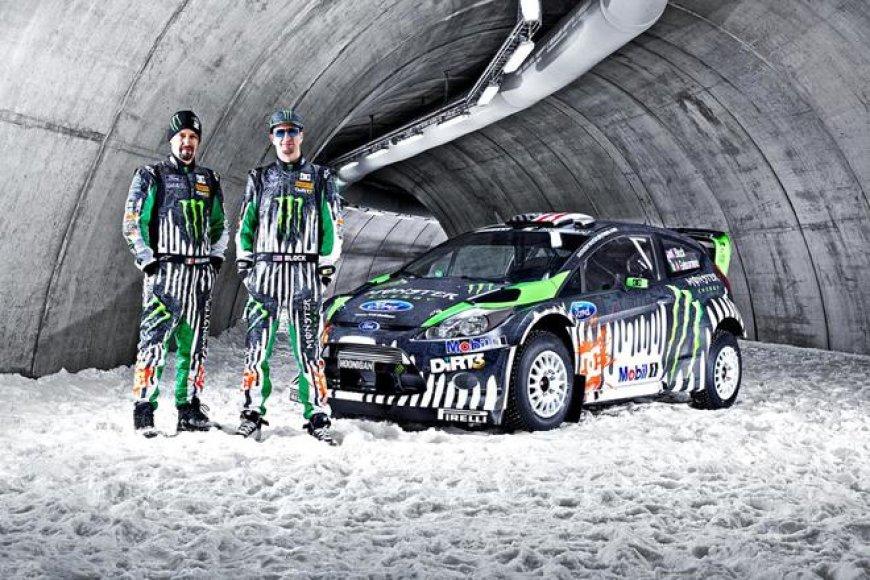 """Monster Energy Ford Fiesta RS WRC"""