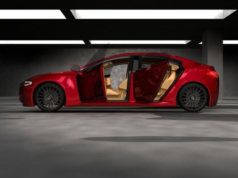 """Mitsubishi GalEA"" koncepcinis modelis"