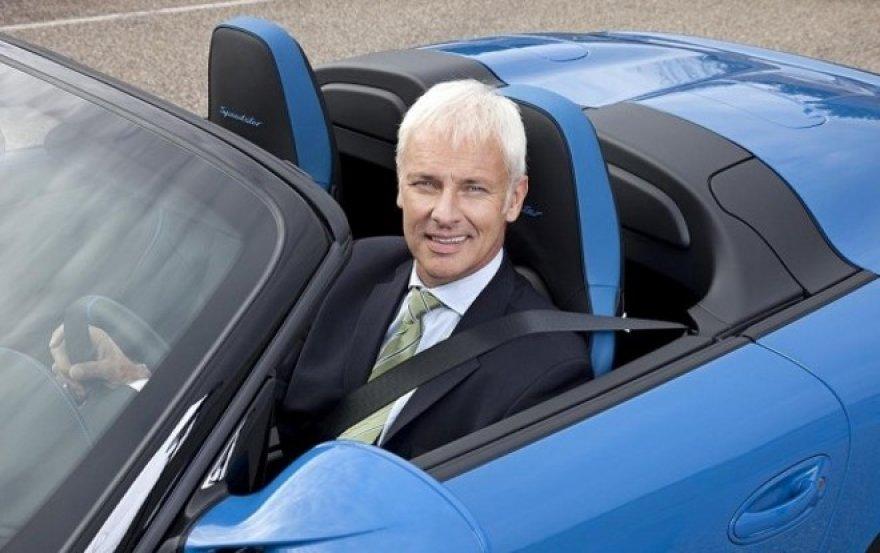 """Matthiasas Muelleris - """"Porsche"""" vadovas"""