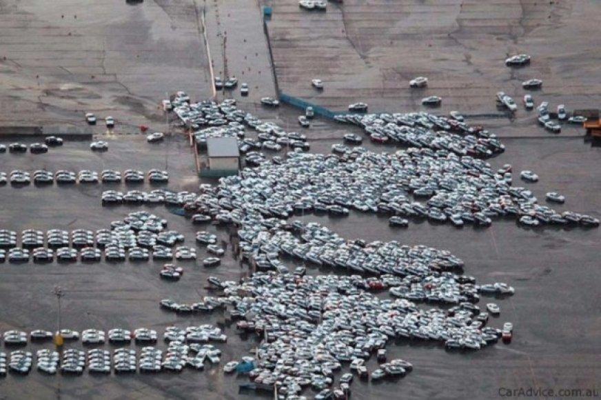 Japonijoje kilusios tragedijos padariniai