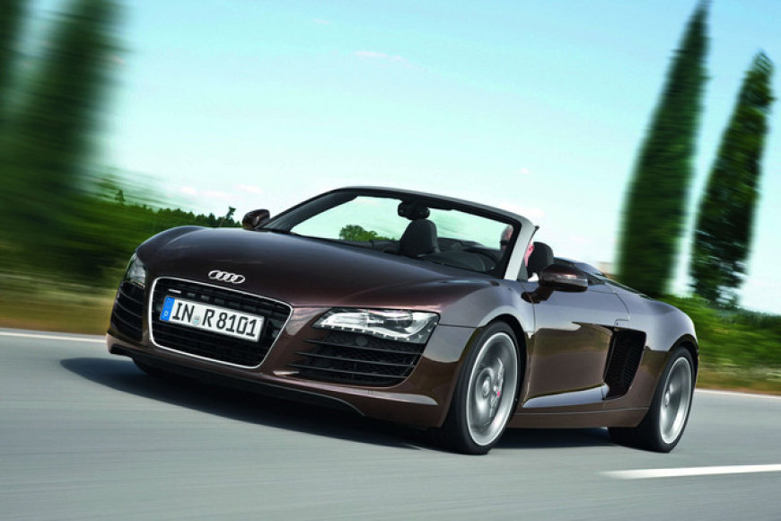 """Audi R8 Spyder"""