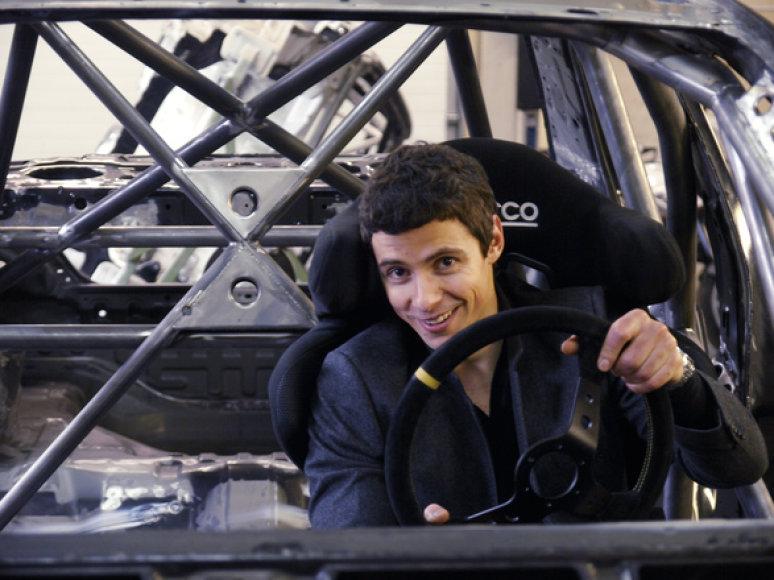 "Jonas Poškus/""Mitsubishi Lancer Evo VIII"""