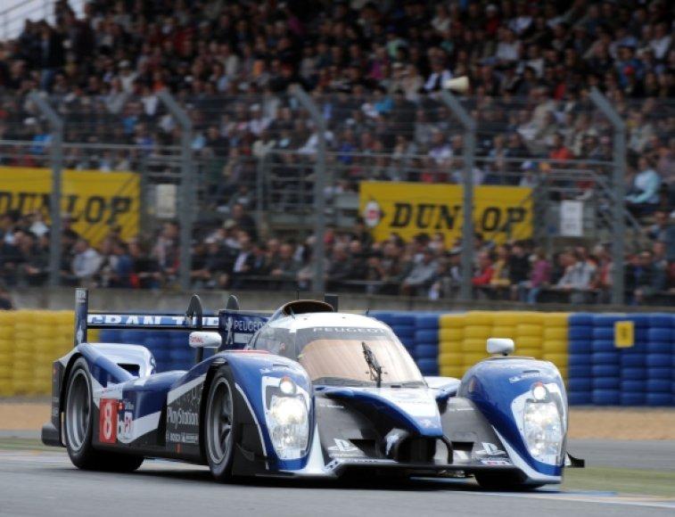 Akimirka iš 2011 metų Le Mano 24 val. lenktynių kvalifikacijos
