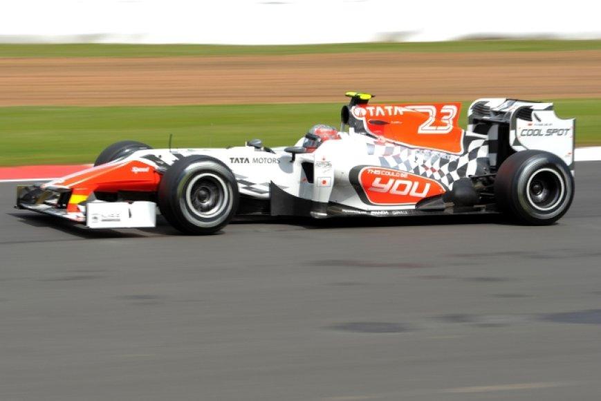 "Vitantonio Liuzzi, ""HRT F1"""