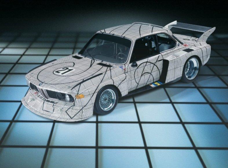 """""""BMW Art Cars"""" paroda Los Andžele"""