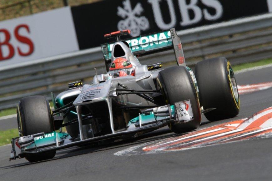 "Michaelis Schumacheris, ""Mercedes GP"""