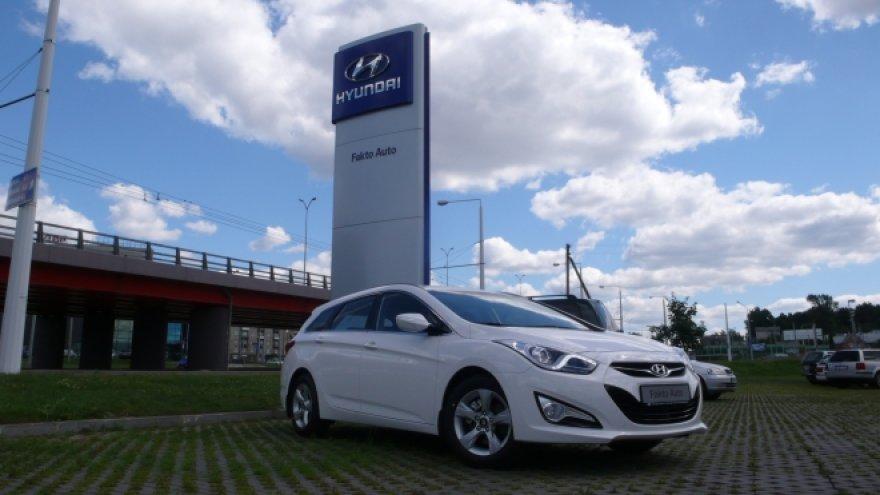 """Hyundai i40"" jau Lietuvoje"