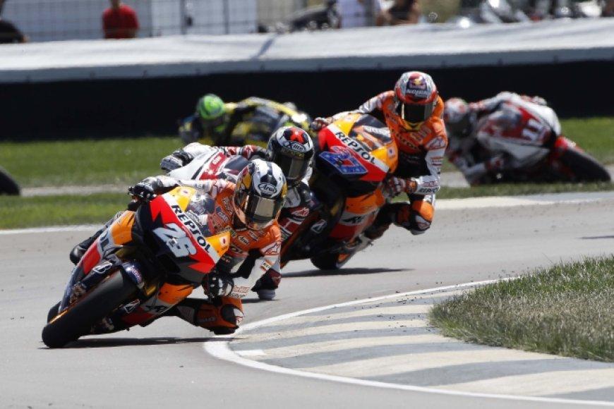 """""""MotoGP"""" lenktynės Indianapolyje"""
