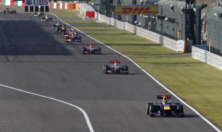 F-1 Japonijos GP akimirka