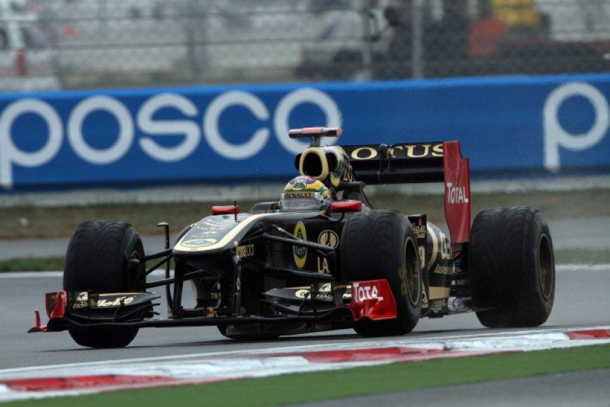 """Bruno Senna, """"Lotus Renault"""""""