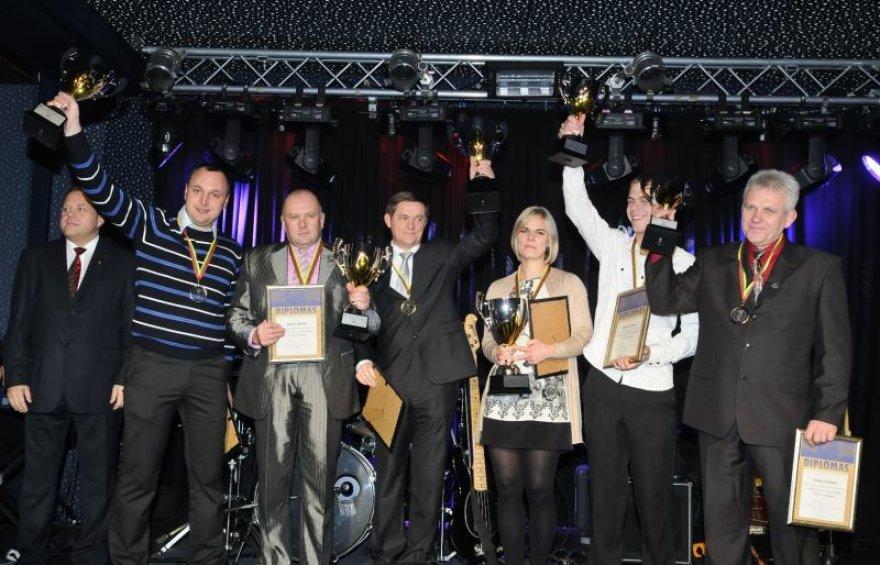 Ralio čempionų apdovanojimai