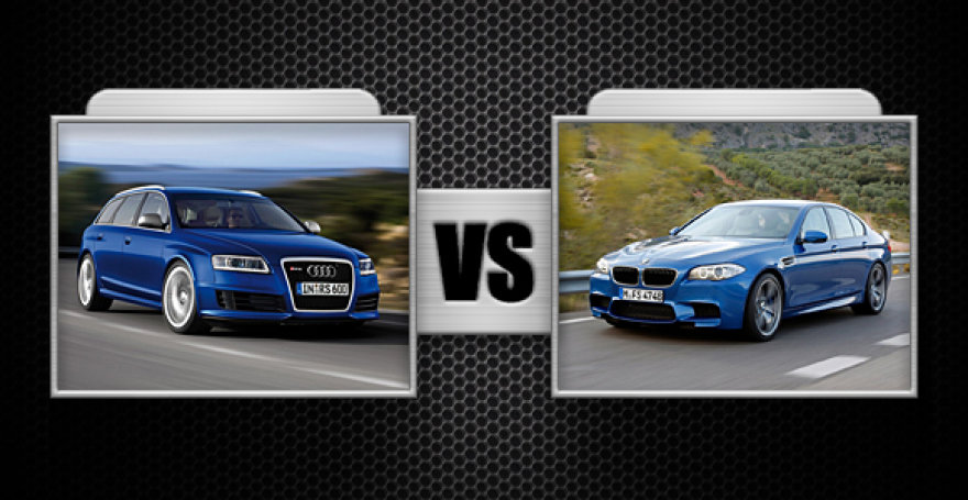 """Kova Nr. 2 """"Audi RS6"""" ir BMW M5"""