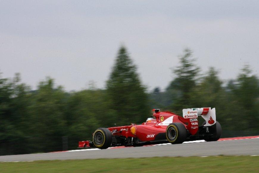 "Fernando Alonso, ""Ferrari"", Niurburgringo trasoje"