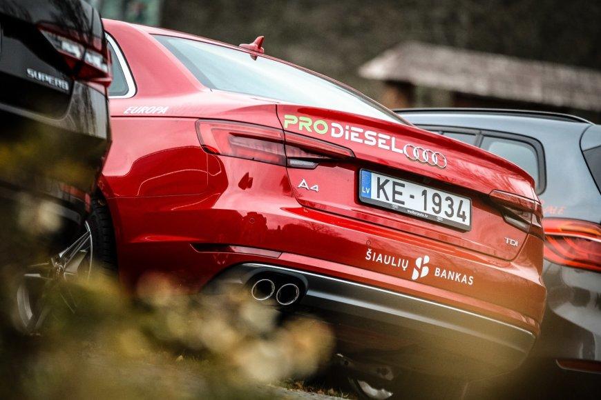 "Edgaro Buiko nuotr./""Audi A4"""