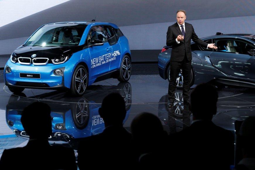 """""""Scanpix"""" nuotr./BMW i3 ir i8"""