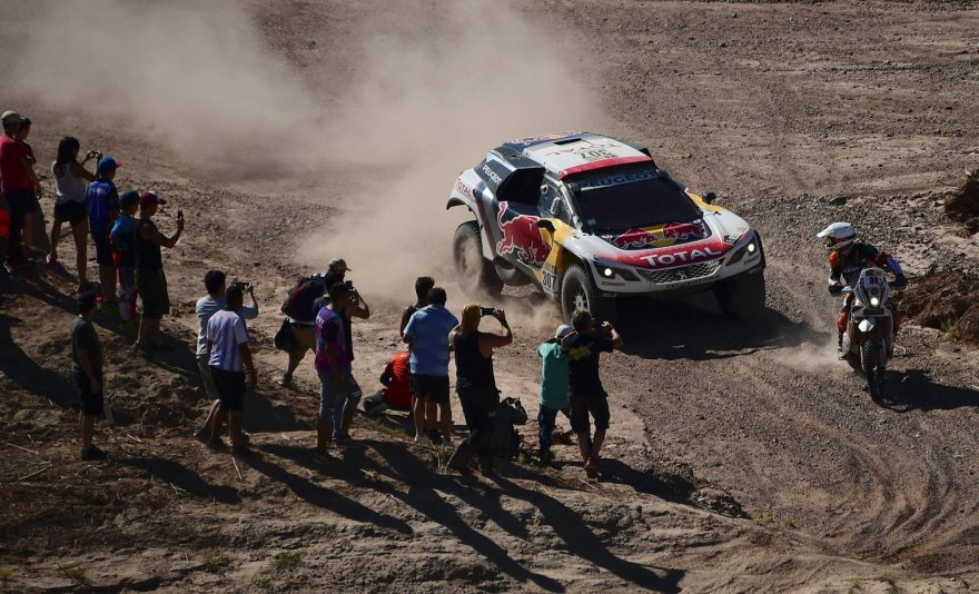 """""""Scanpix"""" nuotr./Dešimtas Dakaro greičio ruožas"""
