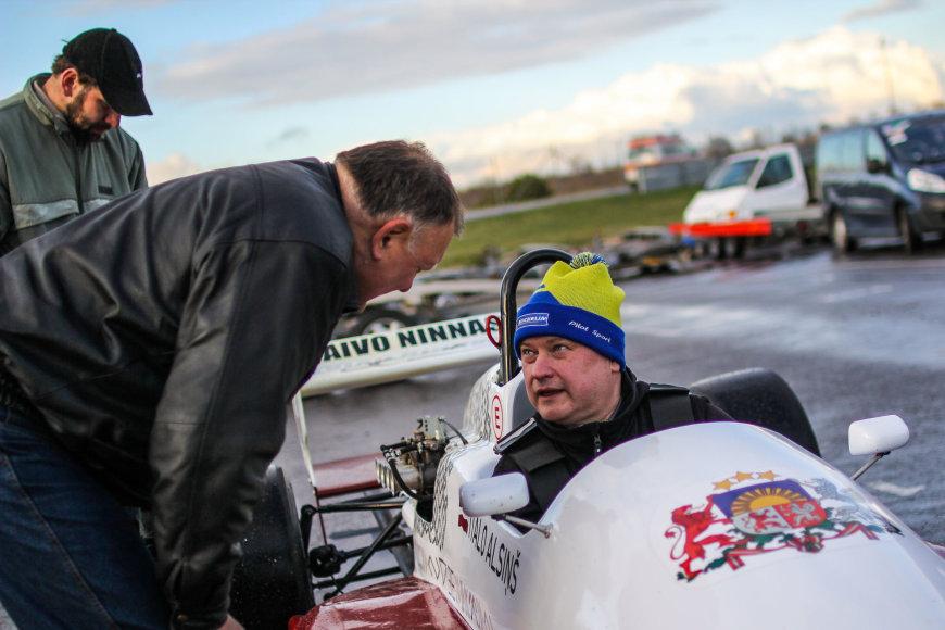 Egidijaus Babelio nuotr./Formulių lenktynės Estijoje