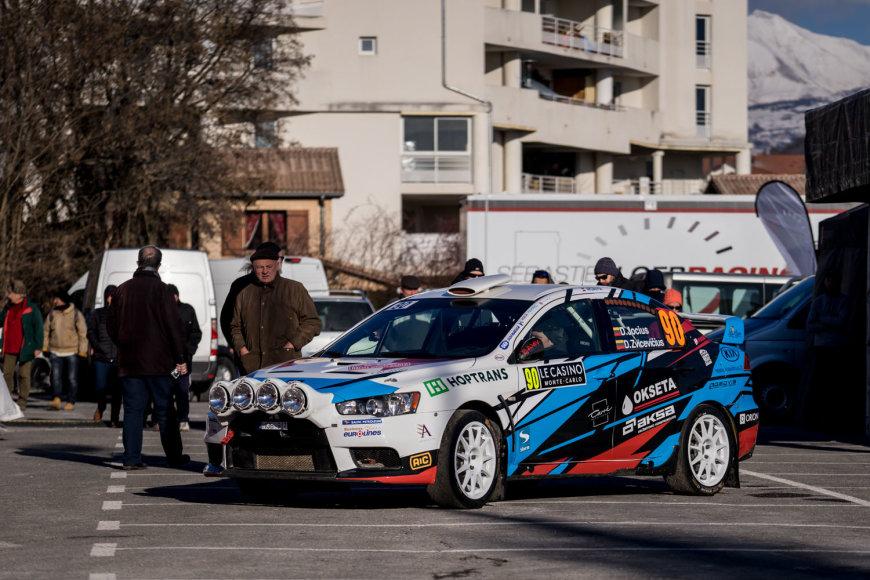"""""""MVP Racing"""" komanda Monte Karlo ralyje"""