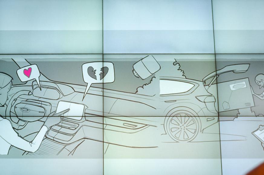"""Vytauto Pilkausko/98.lt nuotr./Naujosios """"Ford Fiesta"""" pristatymas Milane"""