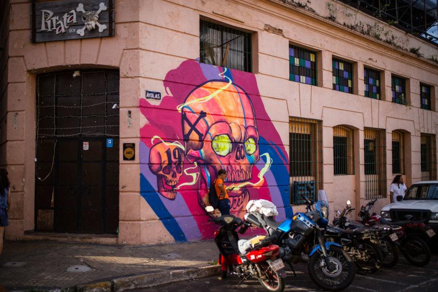 Edgaro Buiko nuotr./Paragvajaus sostinė Asunsjonas